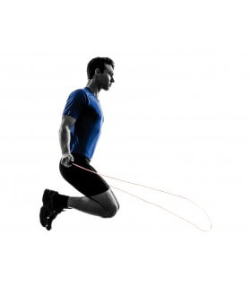 Corde à sauter ajustable