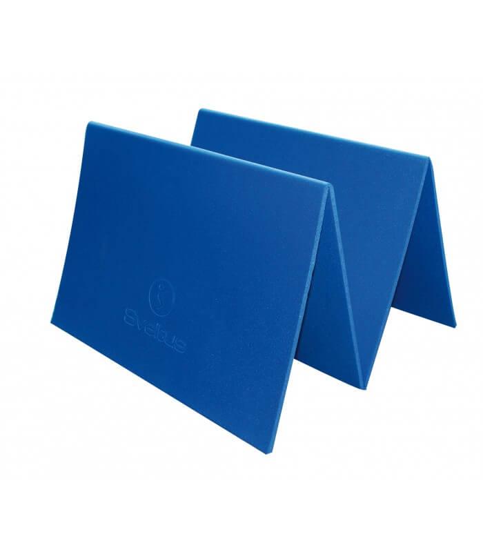 Tapis natte bleu 140x50 cm