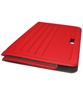 Foldable foam mat red L170 cm