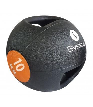 Médecine ball avec poignées 10 kg