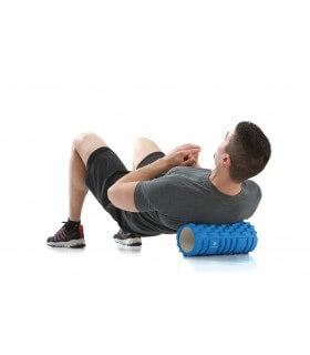 Rouleau de massage bleu