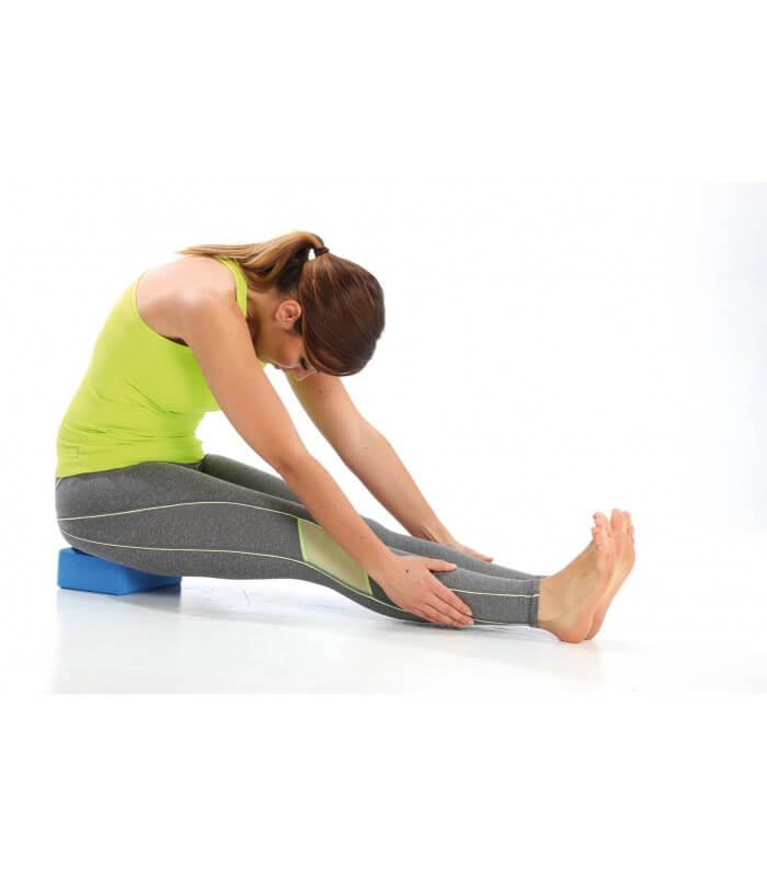 Foam yoga brick blue