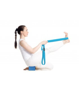 Yoga belt - Blue