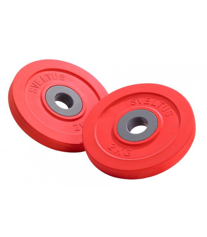 Disc fit'us 2 kg x2