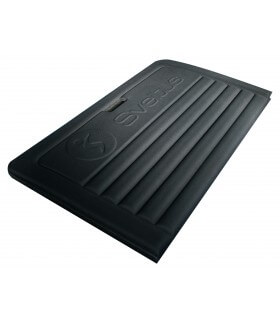 Foldable foam mat black L190 cm