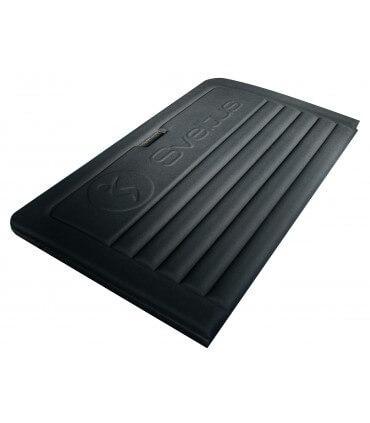 Tapis pliable noir L190 cm