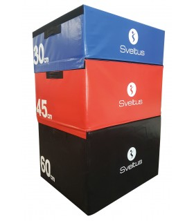 Set of 3 foam plyobox 30/45/60 cm