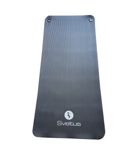 Training mat black L140 cm