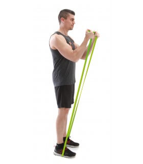 Power band green 11-30 kg strong