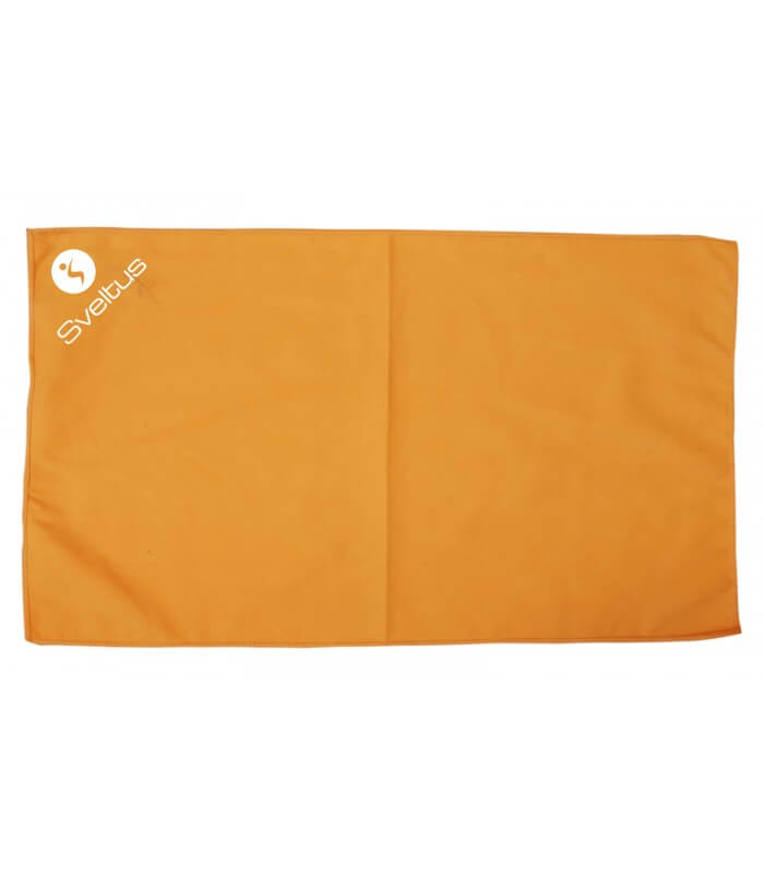 Microfiber towel orange 80x130 cm x1