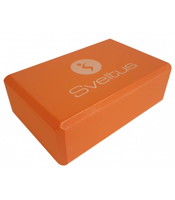 Yoga brick orange