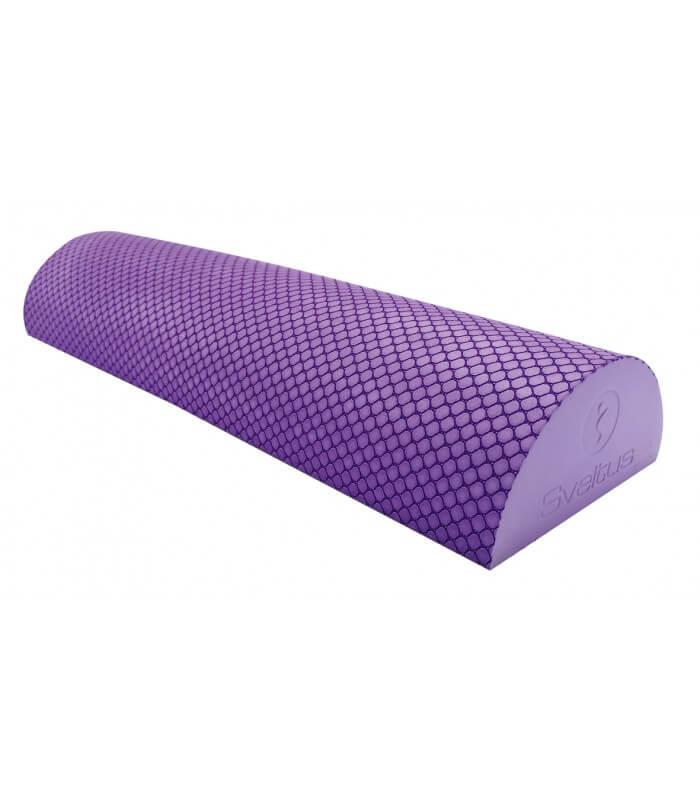 Pilates half foam roller