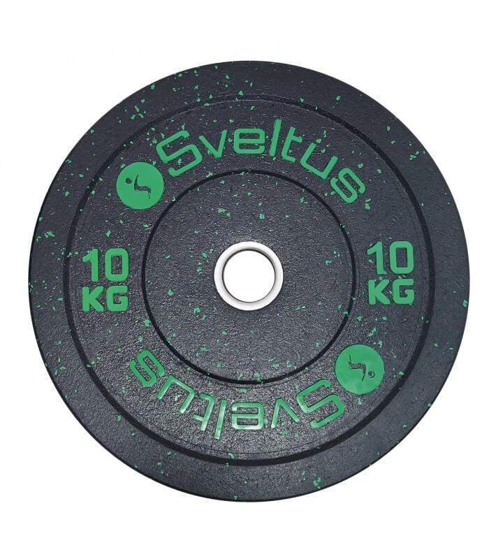 Disque olympique bumper 10 kg x1