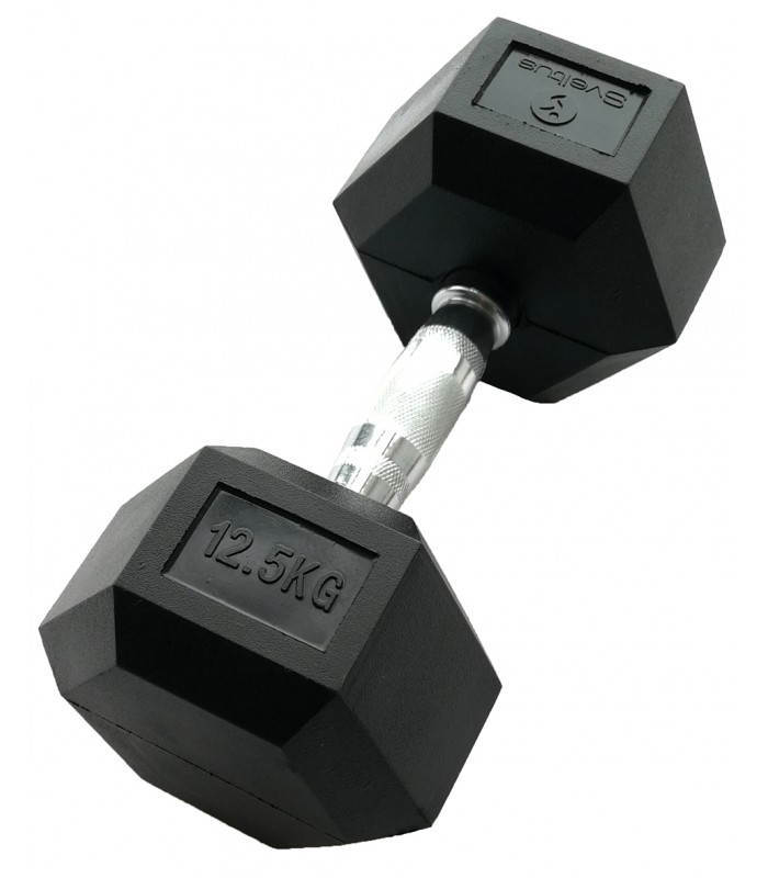 Hexagonal dumbbell 12.5 kg x1