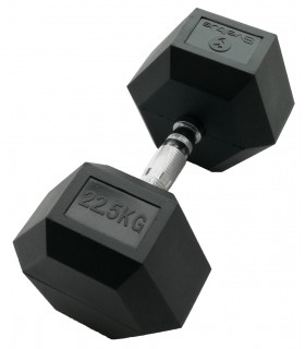 Hexagonal dumbbell 22.5 kg x1