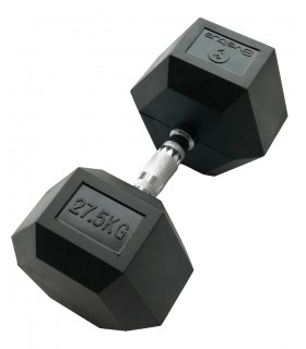 Hexagonal dumbbell 27.5 kg x1