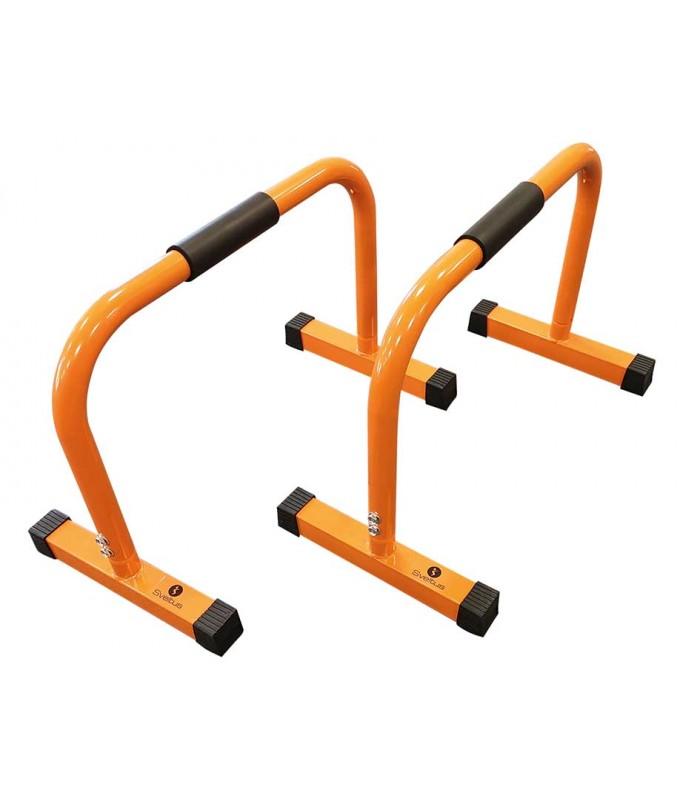 Parallel mini bars orange h45cm x2