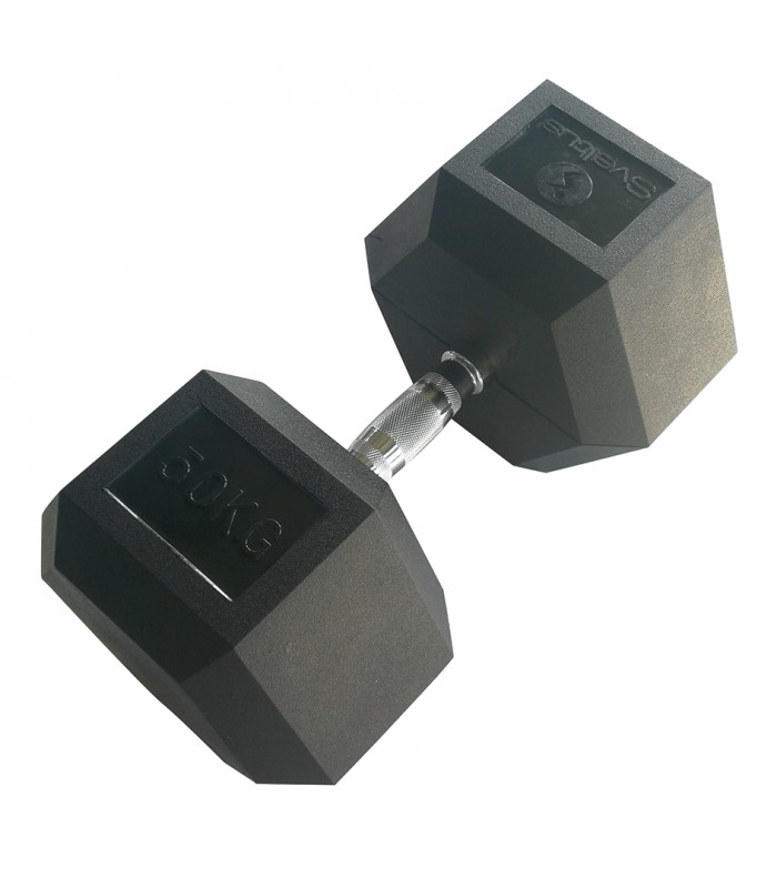 Hexagonal dumbbell 50 kg x1