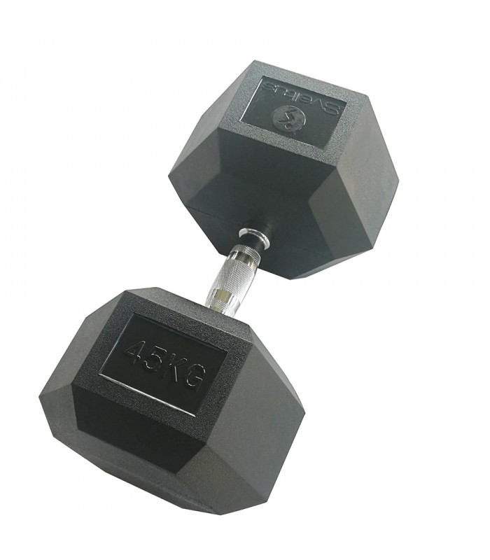 Hexagonal dumbbell 45 kg x1