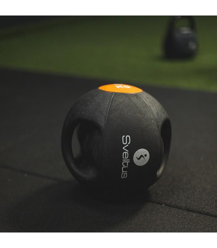 Double grip medicine ball 10 kg