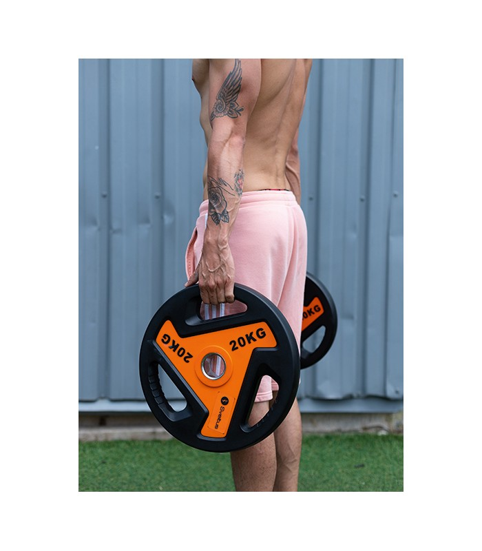 Olympic disc with handles 5 kg x1