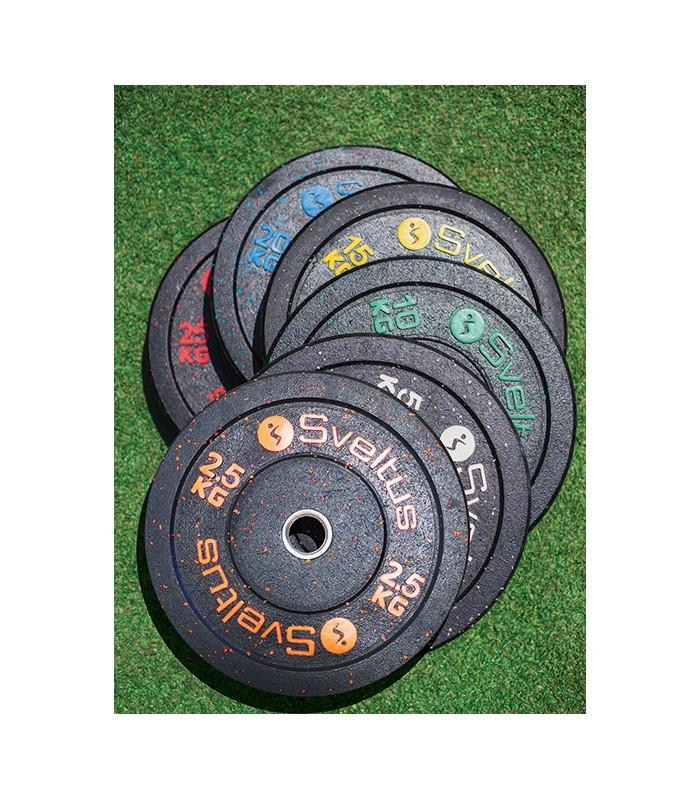 Disque olympique bumper 5 kg x1