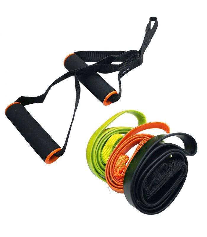 Set de 3 fitness élastiques