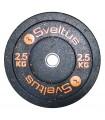 Olympic bumper plate 2.5 kg x1
