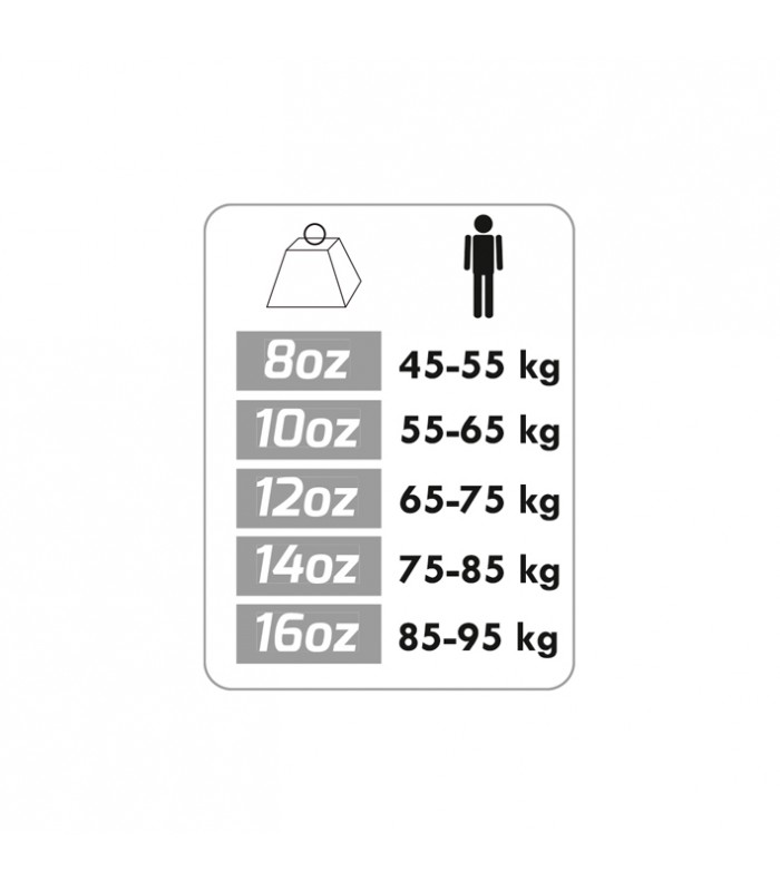 Gant boxe contender 8oz x2