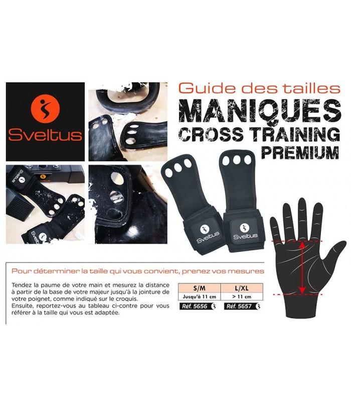 Manique cross training premium L/XL x2