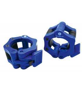 Stop disc olympic bar blue x2