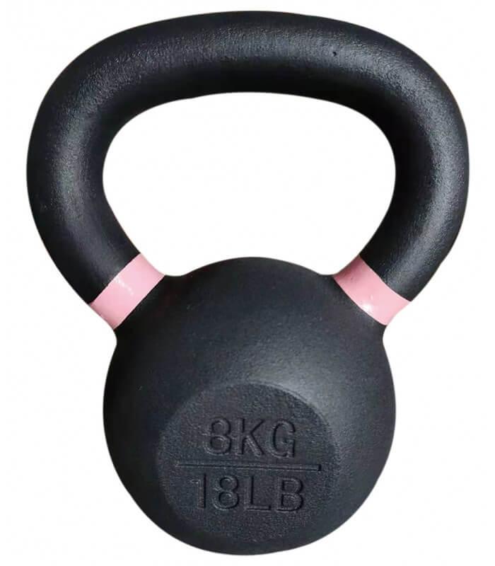 Kettlebell training 8 kg